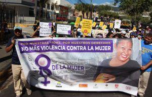 Violencia mujer Salvador